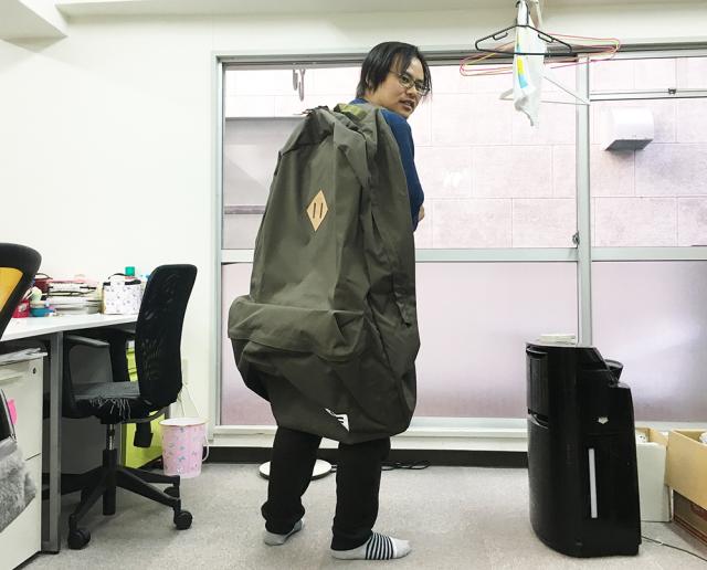 Review nhanh chiếc ba lô dành cho người khổng lồ giá 5,3 triệu trên Amazon Nhật - Ảnh 5.