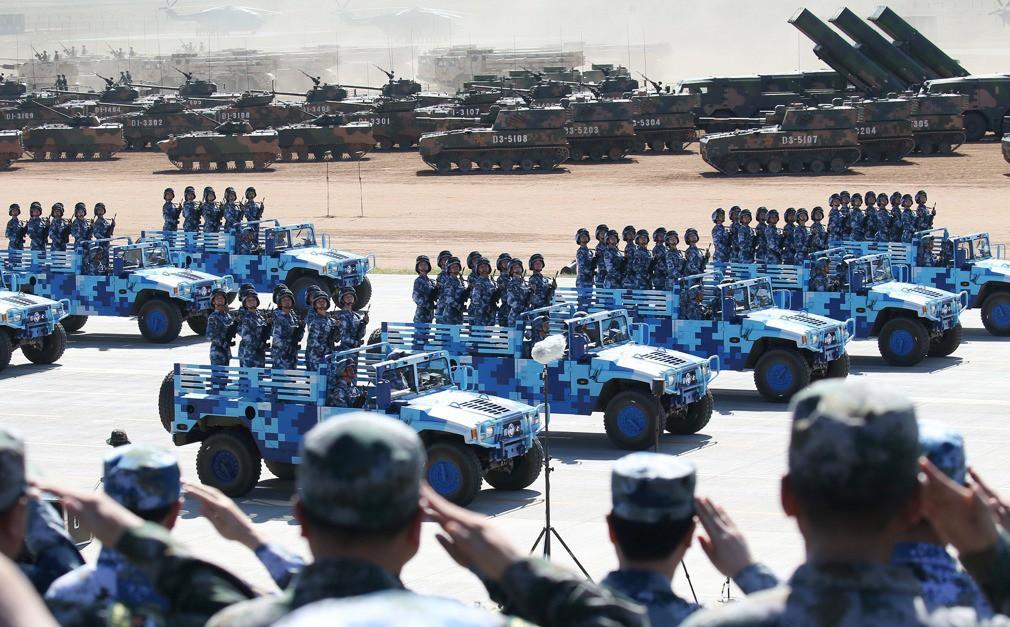 2 Thượng tướng lộ diện, quân đội TQ dọa