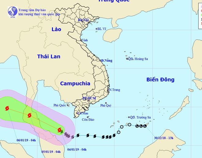 Thời tiết 4/1: Hà Nội rét đậm kèm mưa, Nam Bộ mưa dông - Ảnh 1.