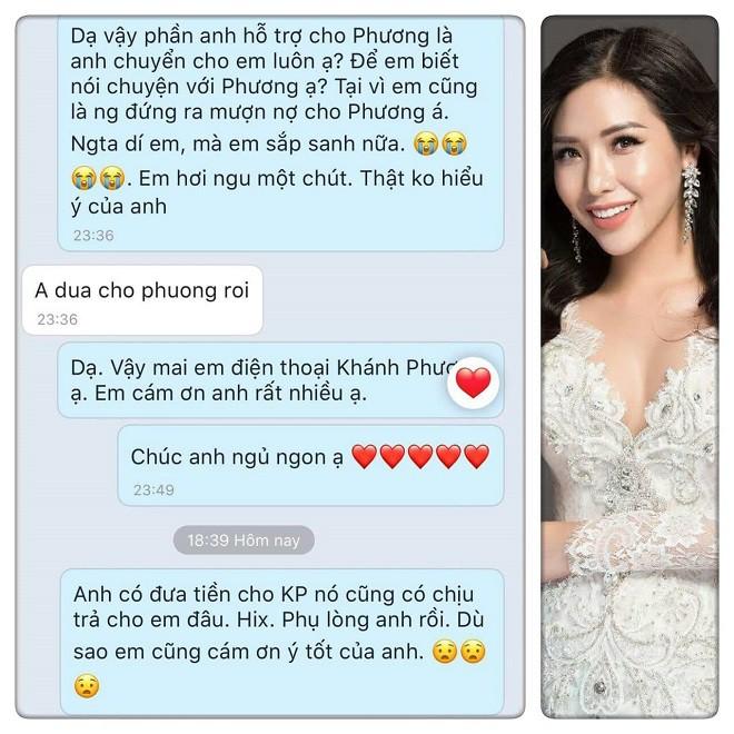 Đại gia xin trả nợ thay nhưng hành động của Khánh Phương khiến chị ruột Hoa hậu Đặng Thu Thảo bức xúc - Ảnh 1.