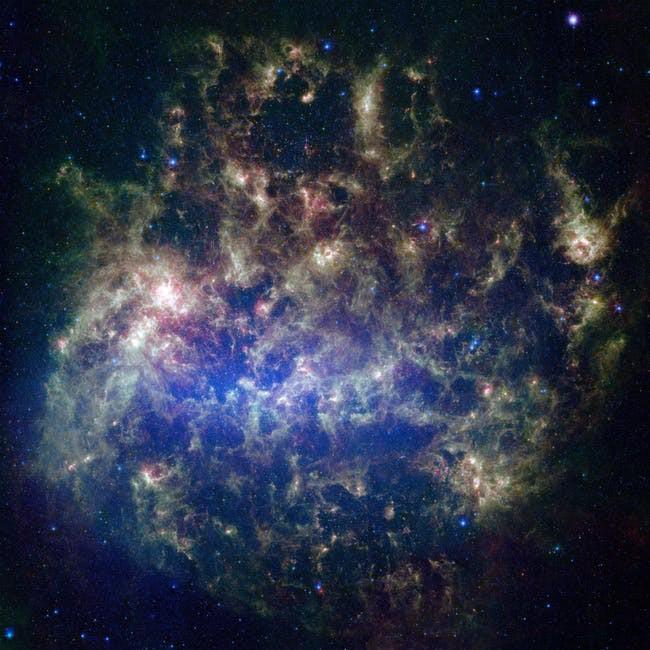 Một thiên hà đang lăm le đẩy Hệ Mặt trời ra khỏi dải Ngân hà - Ảnh 1.