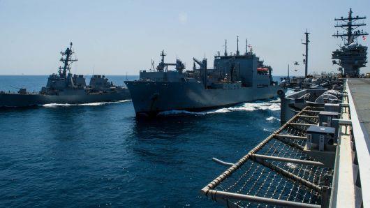 Hai nước đang đàm phán thương mại, chiến hạm Mỹ áp sát quần đảo Hoàng Sa, thách thức Trung Quốc - Ảnh 2.
