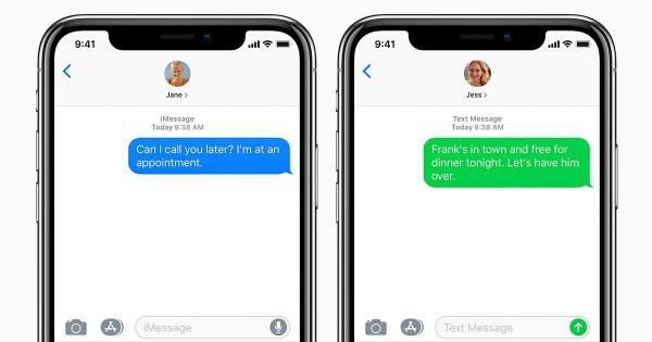 Apple đang lên kế hoạch thay thế chuẩn tin nhắn SMS lỗi thời bằng nền tảng tin nhắn mới - Ảnh 1.
