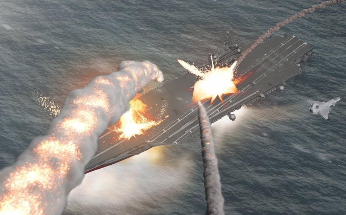 TQ dọa đánh chìm tàu sân bay Mỹ - Chuyên gia cảnh báo: Chớ dại đánh thức gã khổng lồ đang ngủ