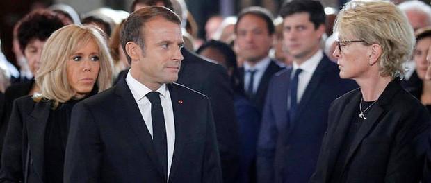 Sau bao nhiêu nỗ lực để hồi xuân, Đệ nhất phu nhân Pháp gây bất ngờ với gương mặt láng mịn trong sự kiện mới nhất - Ảnh 6.