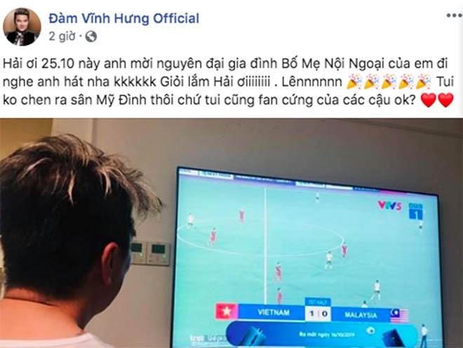 Mr Đàm muốn làm điều đặc biệt cho cả nhà Quang Hải sau bàn thắng tuyệt đẹp vào lưới Malaysia - Ảnh 1.