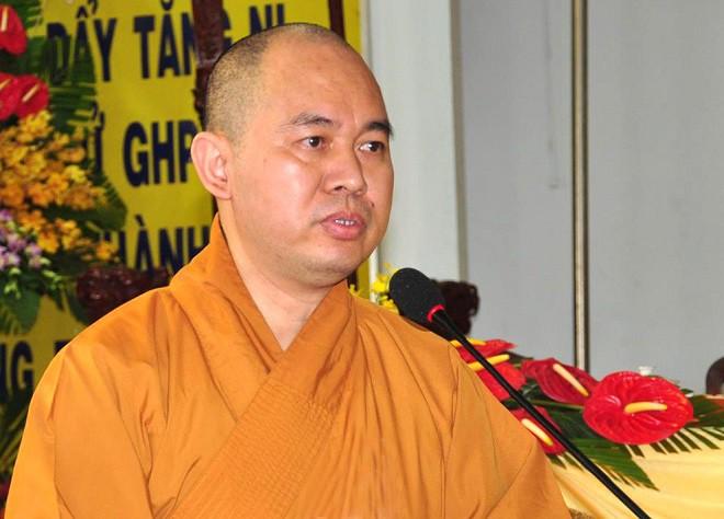 Thượng tọa Thích Đức Thiện không tin sư Toàn có tài sản 200 - 300 tỷ đồng - Ảnh 1.