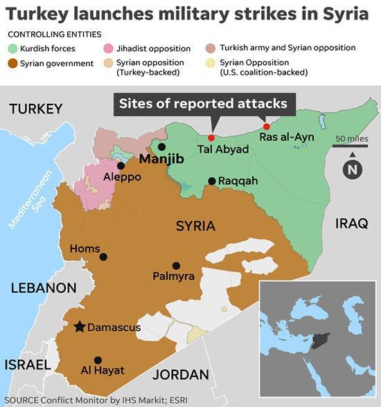 CẬP NHẬT: Máy bay UAV Thổ Nhĩ Kỳ bị bắn rơi - Chiến sự đẫm máu chưa từng có, SDF phản đòn quyết liệt - Ảnh 12.