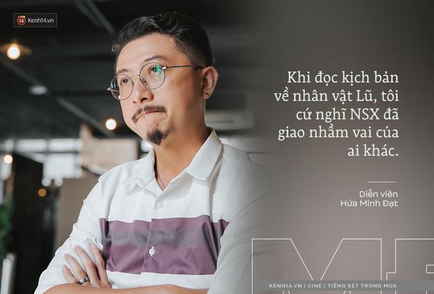 Hứa Minh Đạt ngỡ cầm nhầm kịch bản khi đóng Lũ Tiếng Sét Trong Mưa, kể chuyện Cao Thái Hà sáng tạo cực mạnh cho cảnh cưỡng hiếp - ảnh 2