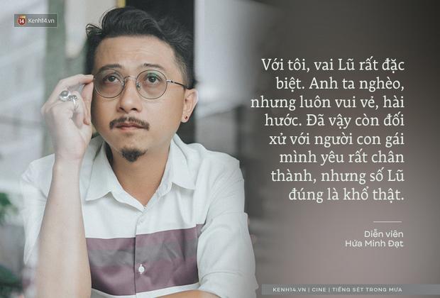 Hứa Minh Đạt ngỡ cầm nhầm kịch bản khi đóng Lũ Tiếng Sét Trong Mưa, kể chuyện Cao Thái Hà sáng tạo cực mạnh cho cảnh cưỡng hiếp - ảnh 4