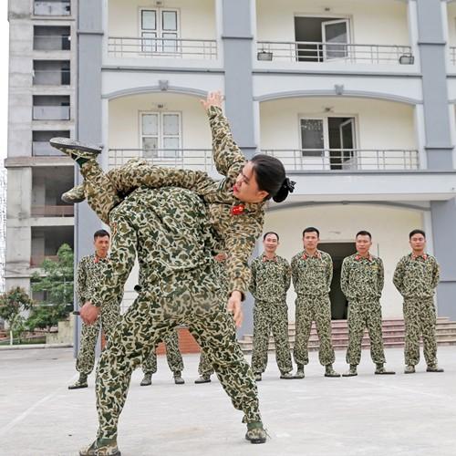 Nữ chiến đấu viên đặc công ở đơn vị biệt động - Ảnh 10.