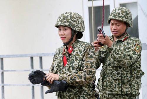 Nữ chiến đấu viên đặc công ở đơn vị biệt động - Ảnh 11.