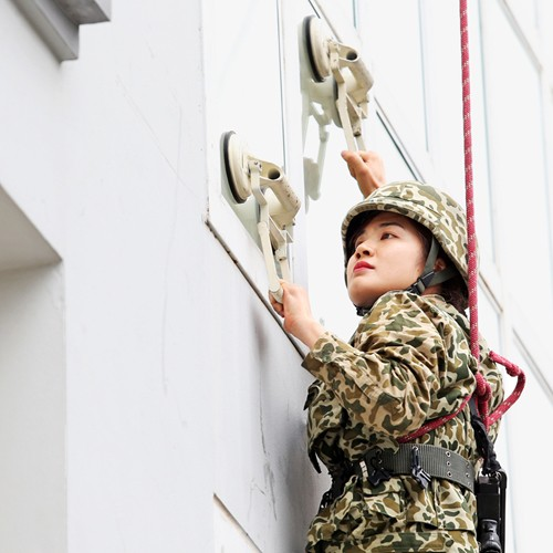 Nữ chiến đấu viên đặc công ở đơn vị biệt động - Ảnh 5.