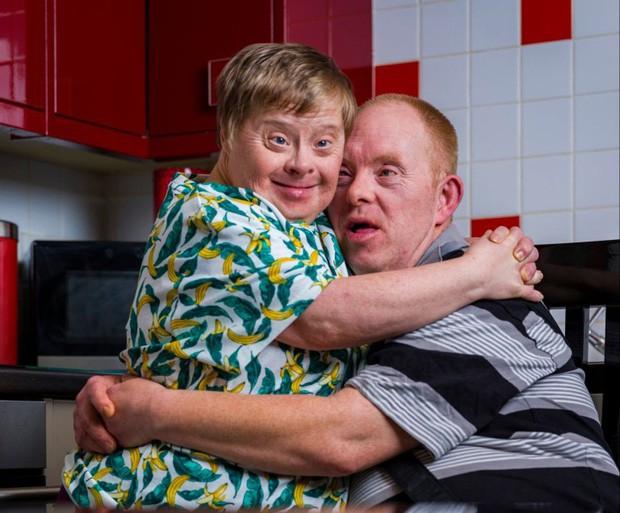 Gareth và Deana tại nhà riêng của họ ở Cumbria