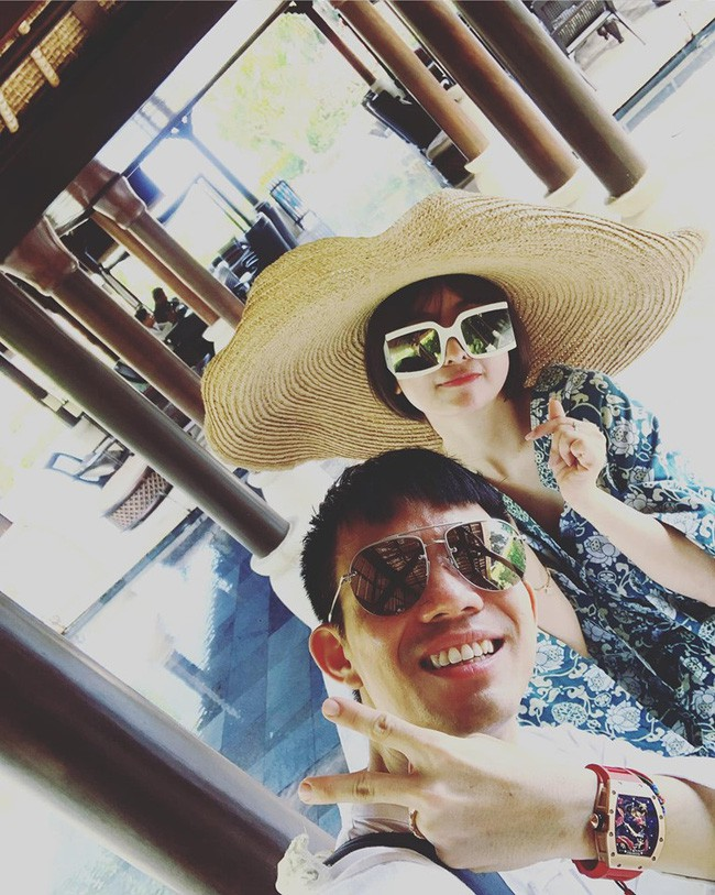 Minh Nhựa sang Bali kỉ niệm ngày cưới, dân tình cười lăn vì lối chụp ảnh của vị đại gia - ảnh 2