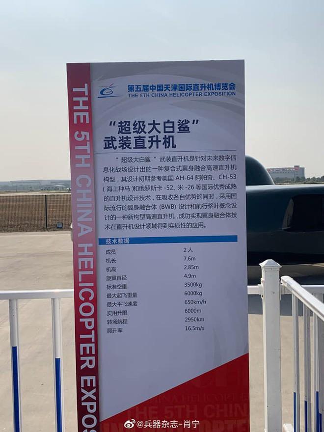 Khám phá trực thăng Siêu cá mập trắng lớn giống robot hút bụi của Trung Quốc - Ảnh 4.