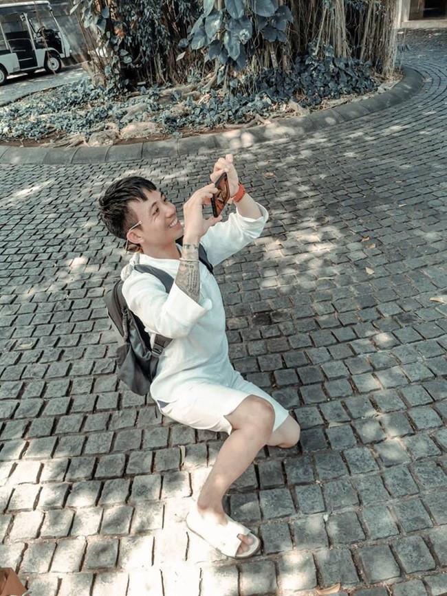 Minh Nhựa sang Bali kỉ niệm ngày cưới, dân tình cười lăn vì lối chụp ảnh của vị đại gia - ảnh 4