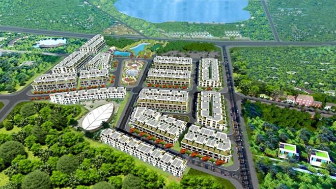 """Huyện Thanh Trì lên tiếng về dự án The Eden Rose """"vướng lùm xùm"""" vượt tầng, xây trường không phép - Ảnh 1."""