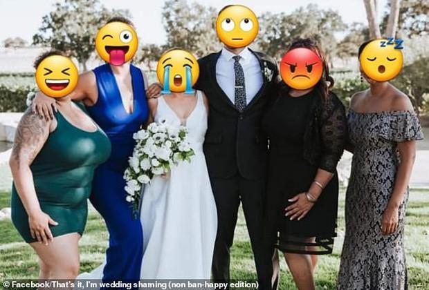 Họ hàng ăn mặc hở hang tới đám cưới, cô dâu tuyệt vọng nhờ dân mạng tút tát lại ảnh để rồi nhận được thành phẩm cười ra nước mắt - Ảnh 2.