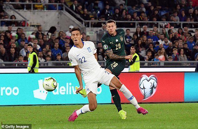 Thổi bay Hy Lạp, Italia đoạt vé dự EURO 2020 trước 3 lượt trận - Ảnh 2.