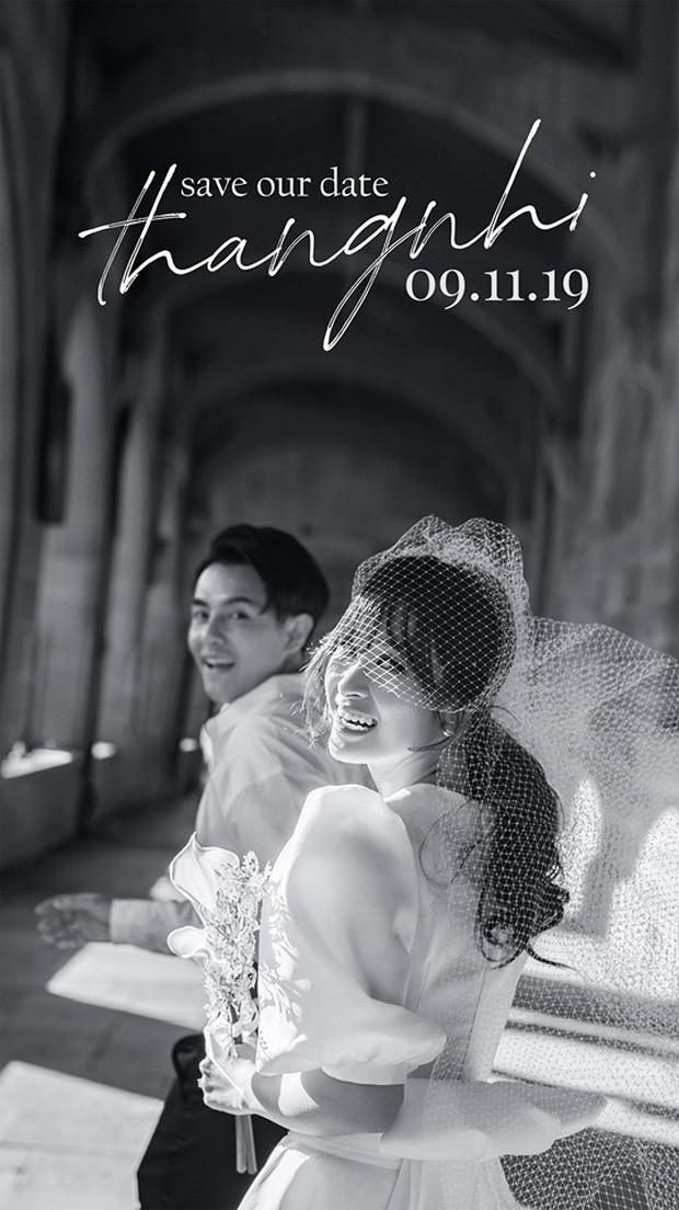 Đông Nhi chính thức hé lộ thiệp cưới trước thềm hôn lễ với Ông Cao Thắng đúng ngày sinh nhật - ảnh 1