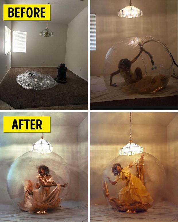 Mẫu nữ khoe hậu trường những bức hình sống ảo chứng minh ai cũng có thể tự chụp được ảnh xịn như tạp chí ngay tại nhà - Ảnh 2.