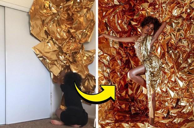 Mẫu nữ khoe hậu trường những bức hình sống ảo chứng minh ai cũng có thể tự chụp được ảnh xịn như tạp chí ngay tại nhà - Ảnh 6.
