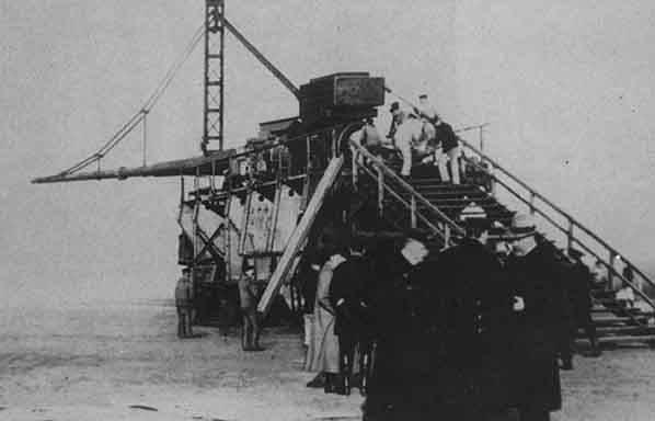Khám phá siêu pháo cực 'dị' của Đức nặng tới 256 tấn, tầm bắn 130km - ảnh 11