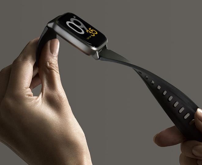 Xiaomi ra mắt smartwatch thiết kế giống Apple Watch, pin 14 ngày, giá 330.000 đồng - Ảnh 1.