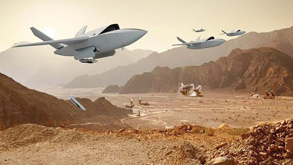 Sát thủ XQ-58A Valkyrie, cặp bài trùng đáng sợ khi kết hợp với chiến đấu cơ F-35 - Ảnh 2.
