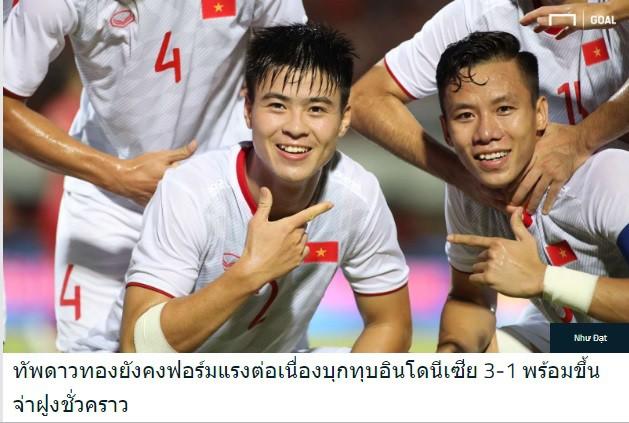 """Báo Thái Lan ngả mũ, đưa Việt Nam """"nổi nhất trang chủ"""" thay vì chiến thắng của đội nhà - Ảnh 2."""