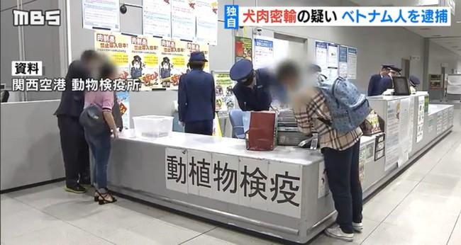 3 người Việt Nam bị bắt vì mang lậu thịt chó vào Nhật Bản - Ảnh 3.