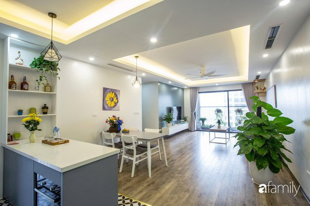 Căn hộ 100m² gây ấn tượng theo phong cách đương đại có tổng chi phí 260 triệu đồng ở Long Biên, Hà Nội - Ảnh 3.