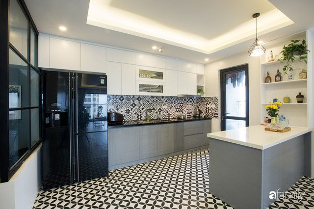 Căn hộ 100m² gây ấn tượng theo phong cách đương đại có tổng chi phí 260 triệu đồng ở Long Biên, Hà Nội - Ảnh 5.