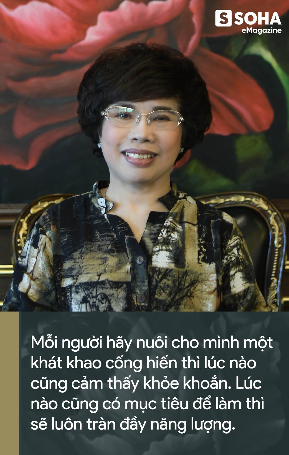 Doanh nhân Thái Hương tiết lộ dược thư chăm sóc sức khỏe và bí quyết để năng động hiếm ai theo kịp - Ảnh 3.