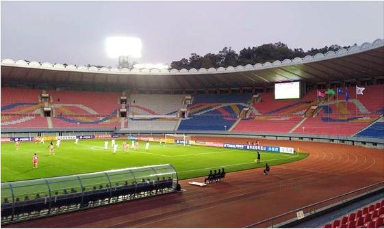 Hàn Quốc chia điểm với Triều Tiên trong trận cầu lịch sử và kỳ lạ ở sân Kim Nhật Thành - Ảnh 2.