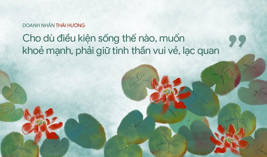 Doanh nhân Thái Hương tiết lộ dược thư chăm sóc sức khỏe và bí quyết để năng động hiếm ai theo kịp - Ảnh 11.