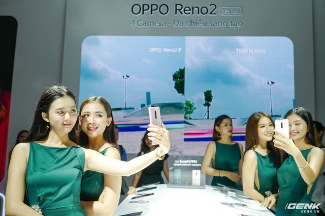 Bộ đôi Oppo Reno 2 và 2F chính thức ra mắt tại Việt Nam hôm nay: Thiết kế vây cá mập độc quyền, 4 camera, sạc VOOC 3.0, giá 8,99 và 14,99 triệu đồng - Ảnh 11.