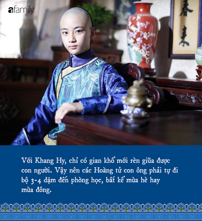 Cách dạy con đặc biệt của một vị hoàng đế nhà Thanh: Bắt con đi bộ gần 5 km đến lớp học, đọc sách là phải đọc 120 lần - Ảnh 1.