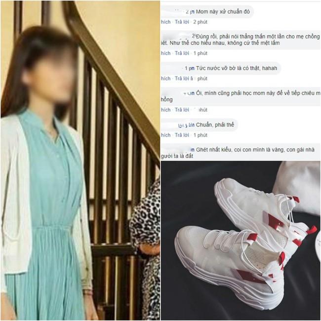 """Cả năm con dâu mới mua được một đôi giày lại bị mẹ chồng chì chiết """"ăn hoang phá hoại"""" và màn đáp trả của cô khiến hội chị em hả hê ủng hộ - ảnh 1"""