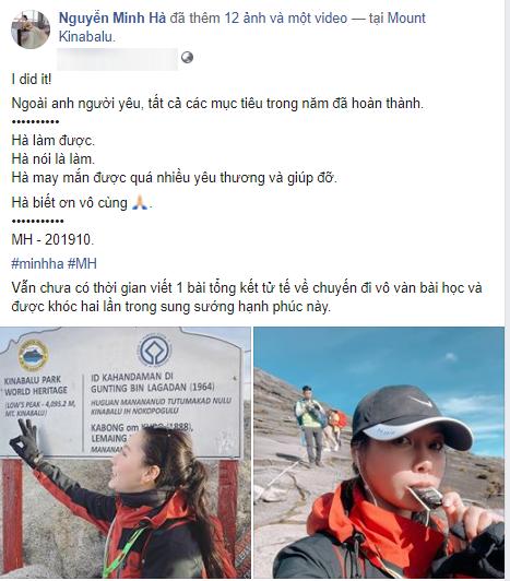 Từng bị dân mạng tung bằng chứng hẹn hò Chí Nhân, nay MC Minh Hà bất ngờ ẩn ý về anh người yêu khiến ai nấy bất ngờ - ảnh 4