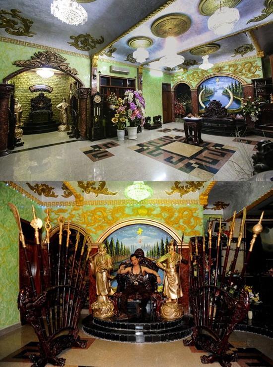 Những ngôi nhà dát vàng, xa xỉ của sao Việt - Ảnh 8.