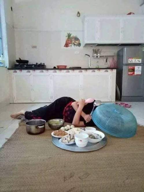 Chê vợ ở nhà chăm con nhỏ lười chảy thây, ông chồng bị mẹ bỉm sữa dạy cho một bài học khiến cả nghìn chị em tán thưởng - Ảnh 2.