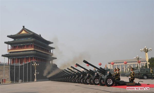 Giải mã thông điệp Trung Quốc muốn gửi đến thế giới qua lễ quốc khánh - Ảnh 1.
