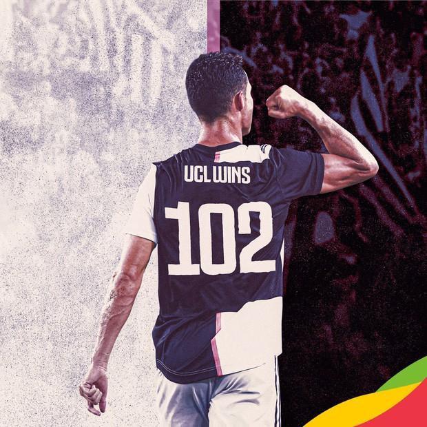 Dứt điểm cực vô duyên nhưng Ronaldo vẫn kịp lập thêm kỷ lục Champions League với bàn ấn định chiến thắng 3-0 cho Juventus - Ảnh 4.