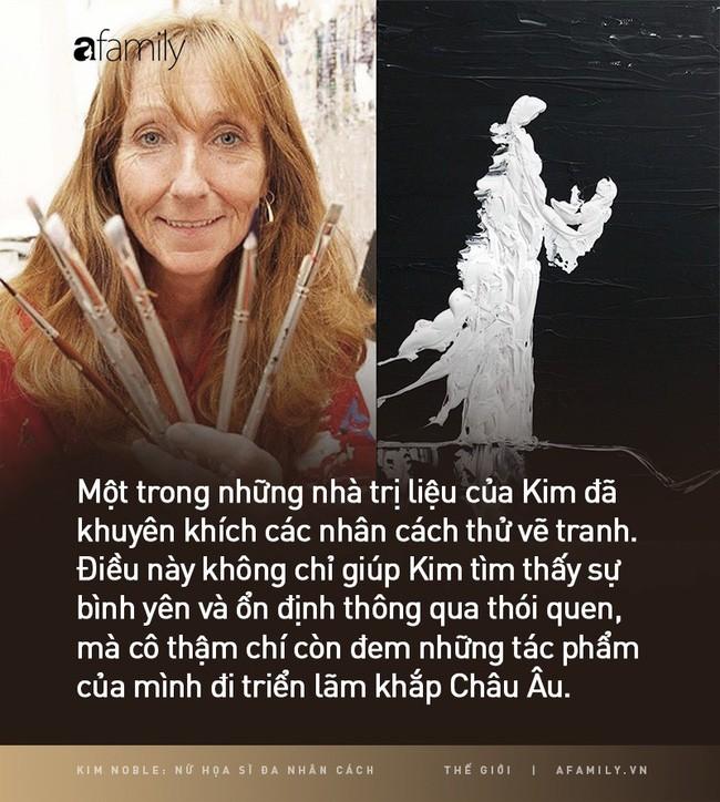 Kim Noble: Nữ họa sĩ có hơn 100 bản ngã và 14 phong cách hội họa từ các nhân cách khác nhau cùng chung một nỗi đau quá khứ - Ảnh 12.