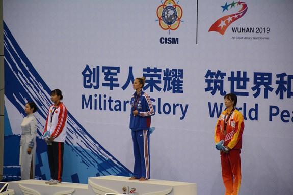 Ánh Viên giành HCB tại Đại hội thể thao Quân sự thế giới - Ảnh 1.