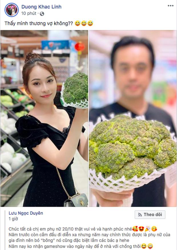Sao Vbiz ngày 20/10: Vợ chồng Hà Tăng, Thủy Tiên cực ngọt ngào sau 10 năm gắn bó, Dương Khắc Linh tặng vợ quà 'khó đỡ' - ảnh 6