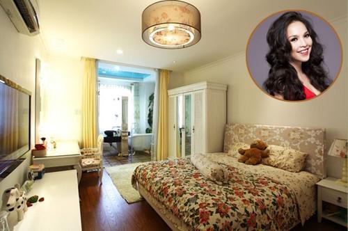 Phòng ngủ của Đàm Vĩnh Hưng, Hồng Nhung xa hoa lộng lẫy, riêng Hoài Linh cực khác biệt - Ảnh 8.
