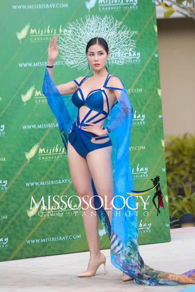 Đại diện Việt Nam giành huy chương vàng đầu tiên tại Hoa hậu Trái đất 2019 - Ảnh 1.